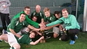 Die glücklichen Sieger: BS SV Rees I