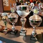 Glänzende Pokale für eine glänzende Leistung!